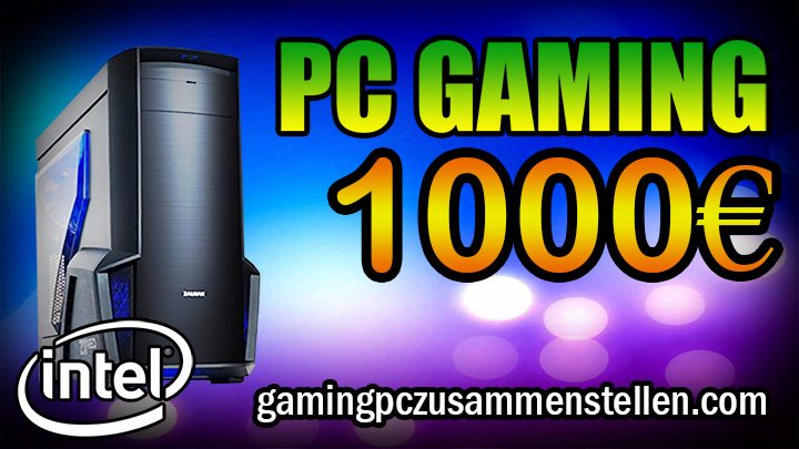 gaming pc 1000 euro