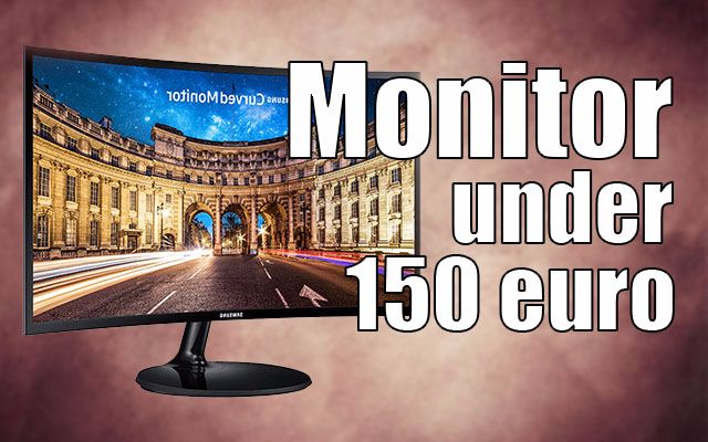 monitor gaming 100 150 euro
