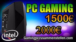 Gaming PC für 1500 euro: Intel Kaby Lake + GTX 1080