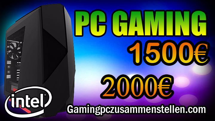 gaming pc 1500 2000 euro
